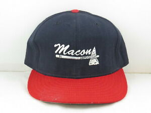 Macon Braves Hat (VTG) - Pro Model by New Era - Fitted 7 3/8