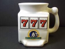 Slot machine coffee mug Spokane Indian Bingo & Casino 777 12 oz