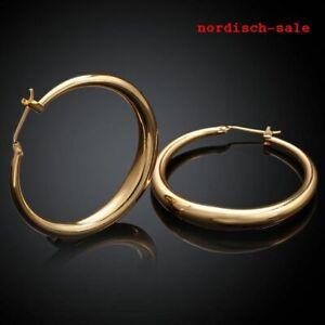Damen Ohrringe - 333 Gold - Creolen - TOP Ware - Neuware