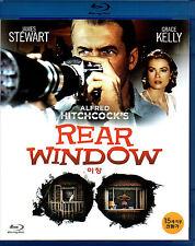 Rear Window - James Stewart Grace Kelly (New) Classic Blu Ray - Region Free
