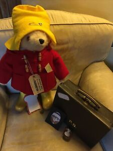 Gabrielle Designs Paddington Bear with Suitcase and Accessories Vintage