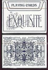 1 DECK Exquisite blue playing cards FREE USA SHIPPING