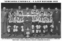NEWCASTLE UNITED F.C.TEAM PRINT 1952 - F.A.CUP WINNERS