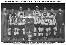 NEWCASTLE UNITED F.C.TEAM PRINT 1952 - F.A.CUP WINNERS