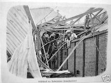 Neckarsulm #unwetter #fahrradfabrik #nsu #holzstich 1897