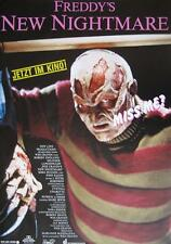 "NIGHTMARE ON ELM STREET / FREDDY KRUEGER FILM POSTER ""FREDDY'S NEW NIGHTMARE"""