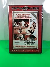 WOOD,THOMAS-TWO THOUSAND MANIACS DVD NEW