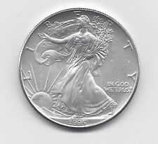 1995 - 1 oz American Silver Eagle Coin - One Troy oz .999 Bullion