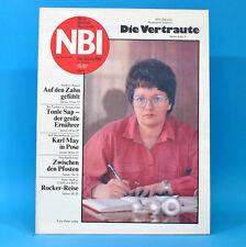 DDR NBI 10 1987 Peter Maffay Bad Langensalza Handball Heinz Rühmann Karl May E