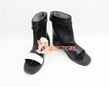 NARUTO Gaara the Kazekage Black Cosplay Shoes Boots X002