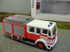 1/87 Preiser MB 1222 AF LF 16 Aufbau Ziegler FW Frankfurt 35022