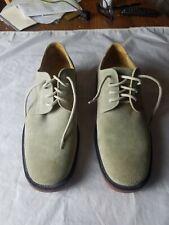 J. Crew Men's  Suede Leather Men's Shoes Oxfords Size 9.5 Beige #58965
