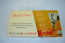 Singer Special Discs Zigzag 600 603 Top Hat Cams 21976 12 Pieces Simanco