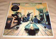 Oasis Definitely Maybe Sealed LP Remastered