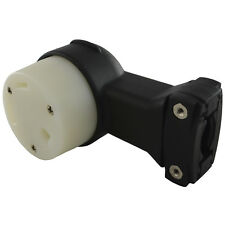 Conntek ASTT-30R Right Angle NEMA TT-30R 3 Prong 30 Amp RV Female Connector