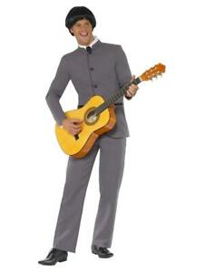 Adult 1960s Music Fab Four Iconic Band Fancy Dress Party Costume