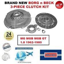 *** Brand New *** BORG n BECK 3-PIECE CLUTCH KIT for MG MGB MGB GT 1.8 1962-1980