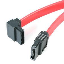 StarTech 18 pouces (45cm) SATA à angulé SATA Serial ATA câble rouge