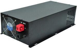 Pure Sine Wave 3000W Power Inverter Converter DC 48V to AC 110V or 220V
