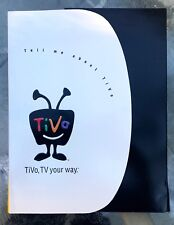 TiVo complete press kit from year 2000. Hollywood rarity!