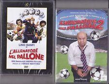 2 Dvd **L'ALLENATORE NEL PALLONE 1 + 2** con Lino Banfi nuovo 1984 / 2008
