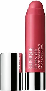 New Clinique Chubby Stick Cheek Colour Balm 03 Roly Poly Rosy 0.13 oz 3.6 g