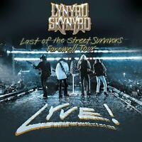 Lynyrd Skynyrd Last of the Street Survivors Tour Lyve! CD & DVD new 2020 preorde