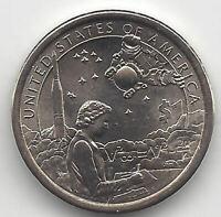1 Dolar U.S.A. India Sacagawea  2019 P @ Astro @ emision Nº 11 @