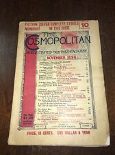 1896 November The Cosmopolitan Magazine Navajo Indians Isabel Burton Vesuvius