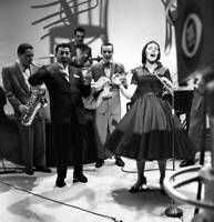 OLD CBS TV RADIO PHOTO TV music show The Big Record Louis Prima, Keely Smith 2