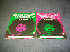 Jimi Hendrix Experience-Are You Experienced album Australian Sheet Music Rare.