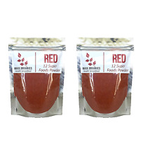 MAXX Organics RED 12 SUPER FRUITS POWDER 60 Day Compare Reds Polyphenol Blend