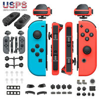 Full Set Durable Replacement Buttons For Nintendo Switch Left Right Joy-Con ABS