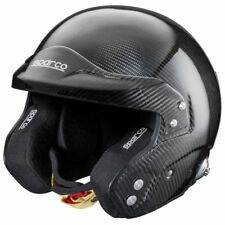 FIA SNELL Helmet SPARCO SKY RJ-7 8859 Carbon size 60 cm L Black