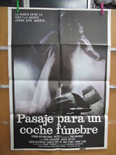 2594     PASAJE PARA UN COCHE FUNEBRE. TRISH VAN DEVERE, JOSE