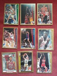 1992-93 Fleer Basketball Series 1 Complete 264 Cards Set Michael Jordan