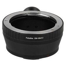 Fotodiox Objektivadapter Olympus Zuiko (OM) 35mm Linse für Nikon 1 Camera Body