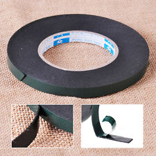 5M x 12mm Car Auto Black Double Sided Strong Mounting Adhesive Foam Tape Roll