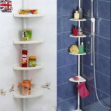 Shower Shelves 4 Layer Corner Bath Shelving Unit Bathroom Shampoo Caddy Holder
