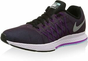 Nike Womens Zoom Pegasus 32 Flash UK 9.5 Noble Purple Refect Silver 806577-500