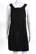 Theory Womens Dress Size 8 Black Sleeveless Embellished