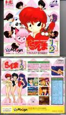 RANMA 1/2 PC ENGINE CD ROM 2 HE SYSTEM NEC  JAPAN  JAPANESE JAPONAIS