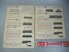 ae566-3 #7 Arnold N Gauge Instructions for Electric Locomotives 0232/0233/0235