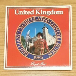 1985 Royal Mint Brilliant Uncirculated Coin Set