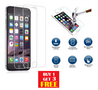 100% Genuine Tempered Glass Screen Protector For Apple iPhone 6/6g/6s BUY1 GET3
