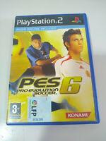 Pro Evolution Soccer 6 Konami - Playstation 2 Juego para Ps2