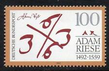 GERMANY MNH 1992 SG2459 500th Anniversary of the Birth of Adam Riese
