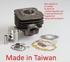 50cc cylinder rebuild kit for Honda DIO 50 Elite 50 AF18E SYM Kymco ZX