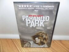 Paranoid Park (DVD, 2008) BRAND NEW FACTORY SEALED!!!