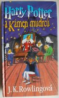 Harry Potter and The Philosopher's Stone - CZECH FIRST EDITION, 2000. Very RARE!